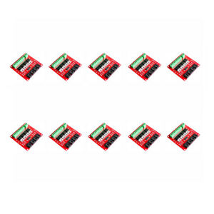 Magideal 10pcs 4 channel Switch Module Mosfet Button Irf540 V2 0 For Arduino