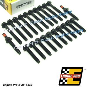 New Complete Cylinder Head Bolt Set Sb Ford 289 302 Kit For Both Heads