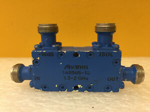 Anaren 1a0505 10 1 5 To 2 Ghz 10 Db N f In line Directional Coupler Tested