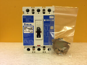 Westinghouse Fdb14k fdb3020l 20 A 3 Pole 600 Vac Circuit Breaker Tested