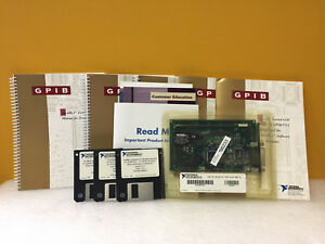 National Instruments 182885e 01 At gpib Tnt Gpib Interface Card New