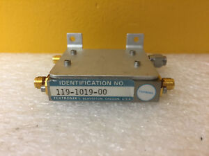 Tektronix 119 1019 00 Sma f Power Divider Module For 492 494 496 Tested