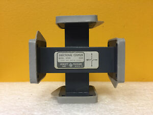 Hp Agilent H750e wr 112 7 05 To 10 Ghz 30 Db Coupling Directional Coupler