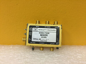 Hp Agilent 5086 7338 22 Ghz Sma f Mixer Assembly