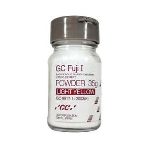 Gc Fuji I Cement Powder 35gm 35gm 901008