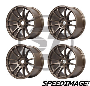 4x Gram Lights 57xtreme 18x9 5 22 5x114 3 Matte Bronze Set Of 4 Wheels Wheel
