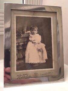 Tiffany Co Frame 18494 Picture Photo Antique American Sterling Silver