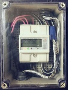 120v 480v 1 2 3 Phase Electric Kwh Meter Pulse Rs485 Internal Ct Enclosure