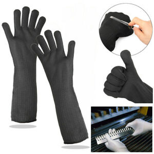 Safety Long Gloves Cut Resistant Working Protective Sleeve Stainless Steel Wire