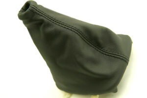 Fits 89 93 Nissan Silva 240sx Synthetic Leather Manual Shift Boot Black Stitch