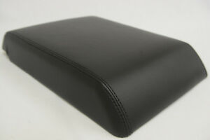 Fits 05 07 Hummer H2 Luxury Synthetic Leather Armrest Center Console Cover Black