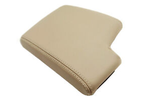 Fits 05 13 Bmw E90 Synthetic Leather Armrest Center Console Cover Beige