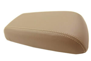 Fits 01 04 Ford Escape Faux Leather Armrest Center Console Cover Beige