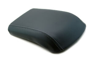 Fits 13 16 Ford Escape Faux Leather Armrest Center Console Cover Dark Gray