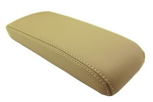 Fits 94 97 Honda Accord Synthetic Leather Armrest Center Console Lid Cover Beige