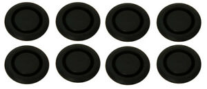 New 1965 1968 Mustang Rubber Seat Access Hole Plug Kit Set Of 8 Floor Pan Plugs