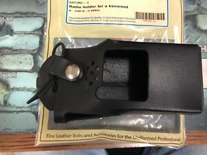 Boston Leather 5471 Rc 1 Black Fireman S Kenwood Radio Holder Holster