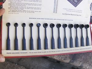 Vintage Lee Powder Measure Kit Reloading Tools