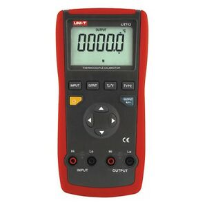 Uni t Ut713 Digital Thermocouple Calibrator Process Calibrator Tester W usb Inte