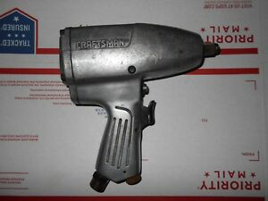 Craftsman 1 2 Drive Pneumatic Air Impact Wrench Gun Model number 875 199940