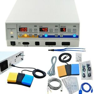 Electrosurgical Unit Diathermy Machine Smooth Surgery Electrocautery Hospital Ce