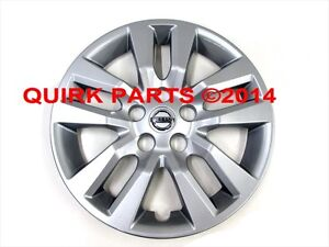 2013 2015 Nissan Altima 16 Wheel Cover Hubcap Assembly Oem New Genuine