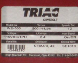 Triac Valve Controller We 500 Electric Actuator With 2 S s Ball Valve a1