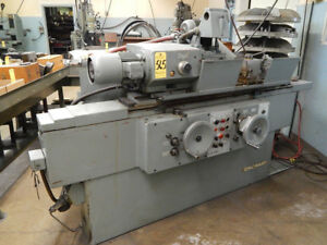 Cincinnati Milacron Cylindrical Od Grinder 10 Swing 30 Center Metal Grinder