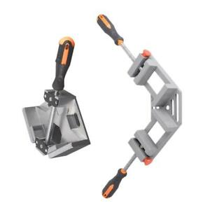 Magideal 2pcs 90 Corner Clamp Right Angle Vice Clamps Woodworking Frame