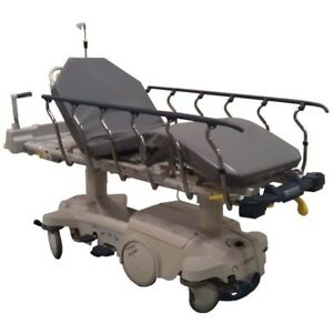 Stryker Zoom Motorized Stretcher 1025 M series Clinician Patient Care Gurney