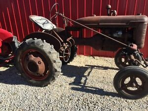 1939 Farmall A Tractor 1st Year Runs Great Real Good Frestone Tires