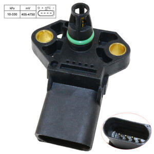 3 Bar Map Sensor For Vw Audi Mk4 Mk5 Tdi Golf Jetta Beetle Passat Turbo 99 05
