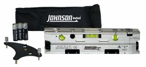 Johnson Level And Tool 40 6184 Three beam Magnetic Torpedo Laser Level