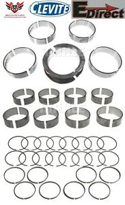Chevy 5 7 Ls1 Edirect Piston Rings With Clevite Rod And Main Bearings