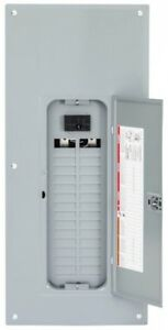 Main Breaker 100 Amp 30 space 60 circuit Indoor Plug Neutral Load Center Cover