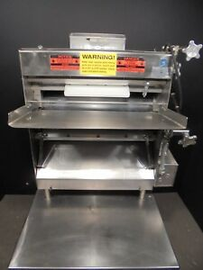 Dough Roller Sheeter Pizza Roller Acme Mrs 11 With Stand 2800 00 Nice
