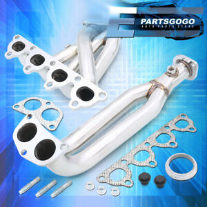 4 2 1 D15 D16 Stainless Steel Exhaust Header For Honda Civic Del Sol Crx Sohc