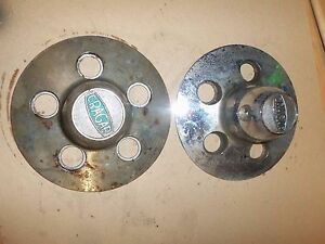 Vintage Cragar Mag Wheel Chrome Center Cap Pair 29171 4 1 2 Ford Mopar