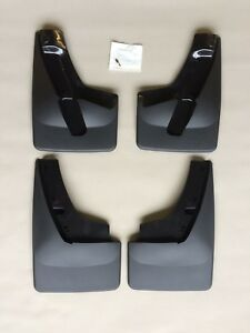 2015 2018 Gmc Yukon Denali Xl Custom Fit Molded Mud Flaps No drill Mount 4 Piece