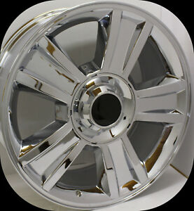 Set Of Chrome 20 Wheels Rims 2000 2018 Chevy Silverado Z71 Tahoe Ltz Suburban
