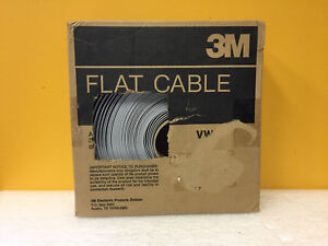 3m 3476 40 100 100 Length 40 Conductors Flat Ribbon Cable New In Box