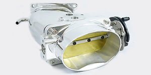 Accufab 03 04 Cobra Polished Oval Throttle Body Power Air Inlet 4 6l 4v Dohc