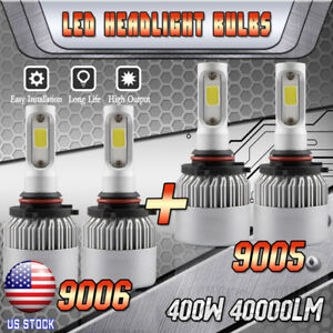 9005 9006 Led Headlight Bulbs For Ford Expedition 2003 2006 Explorer 2002 2005