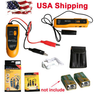 Usa Ship Kolsol F02 Underground Cable Wire Locator Tracker Lan With Earphone