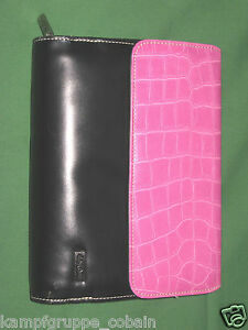 Compact 1 25 Pink Reptile S Leather Franklin Covey Day One Planner Binder 166