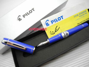 tracking No Pilot Fpr 3sr Prera Medium Fountain Pen Royal Blue 6 Cartridges
