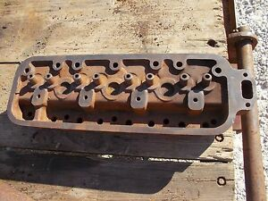 Allis Chalmers B Ib C Tractor Ac Engine Motor Gas Cylinder Head