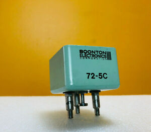 Boonton 72 5c Clip Style Test Port Adapter For 72x Capacitance Meters Tested
