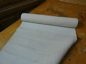 A Homespun Linen Hemp Flax Yardage 6 Yards X 20 Plain 8321