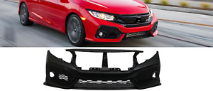 16 18 Honda Civic Si Oe Style Front Bumper Conversion R Style Grille Grill